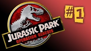Jurassic Park: Operation Genesis #1 - Opening the Park