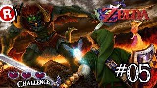 The Legend of Zelda: Ocarina of Time #05 - 3 hearts challenge - FINAL