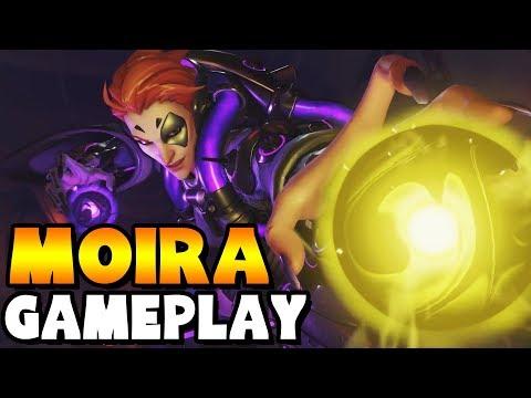 Moira Gameplay - Overwatch
