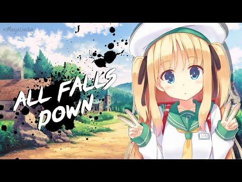Nightcore - All Falls Down (Alan Walker)   Lyrics