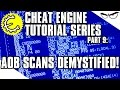 Cheat Engine 6.4 Tutorial Part 9: Array of Byte (AOB) Scans Demystified!