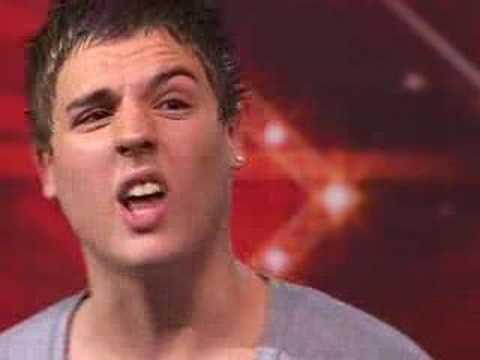 X Factor 4, ep 4, Matthew (itv.com/xfactor)