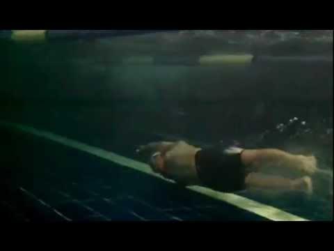 Swimming in Speedo Fastskin Racing System