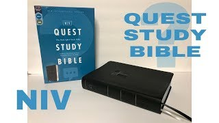 NIV Quest Study Bible Review