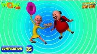 Motu Patlu - 6 episodes in 1 hour | 3D Animation for kids | #35