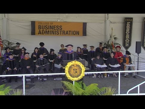 Business Administration - 2015 CSULB Commencement