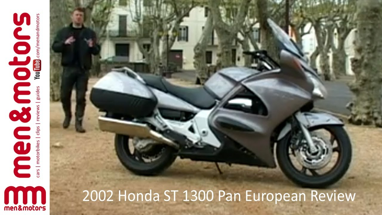 2002 honda st 1300 pan european review youtube. Black Bedroom Furniture Sets. Home Design Ideas