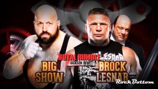 WWE Royal Rumble 2014 Full Match Cards Official [HD]