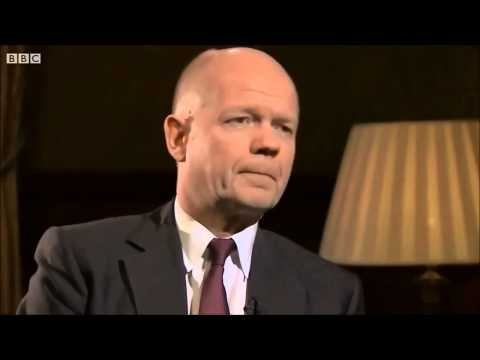 William Hague Slip Of The Tongue - Syria Crisis - Propaganda