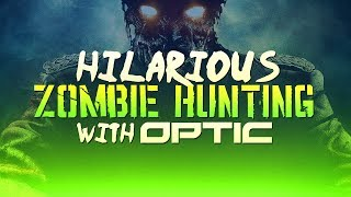 Hilarious Zambie Hunting with OpTic(Funny Infected Moments)