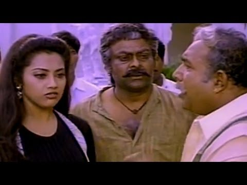 Sneham Kosam Movie|| Meena Slapping Chiranjeevi Sentiment Scene || Chiranjeevi,meena video
