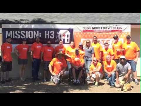Healing Our Heroes' Home Mission #8 Marine SSGT Patrick Ozborn Remodel Video