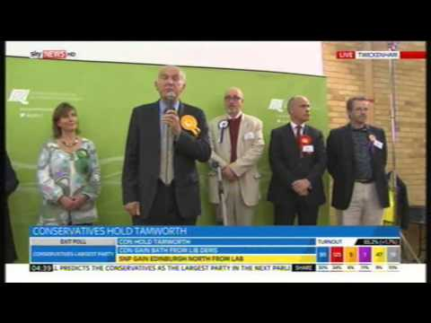Vince Cable speech following Twickenham defeat, 8th May 2015