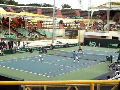 Davis Cup, Chennai - India vs Brazil