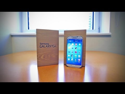 Video: Samsung Galaxy S4 Unboxing (Galaxy S IV)