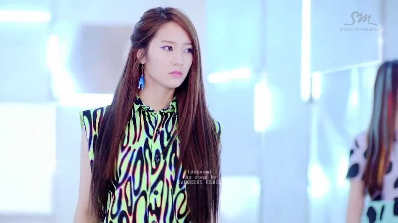 Krystal f(x) SOLO - Electric Shock Remix [HD] - YouTube