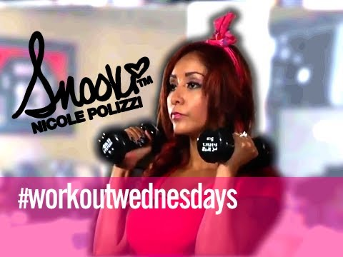 Total Body Push   Home Edition  Workout Wednesday w  Snooki