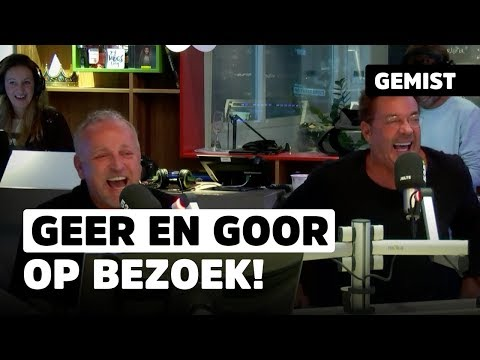 Evers heeft slappe lach met Geer & Goor! | 538Classic