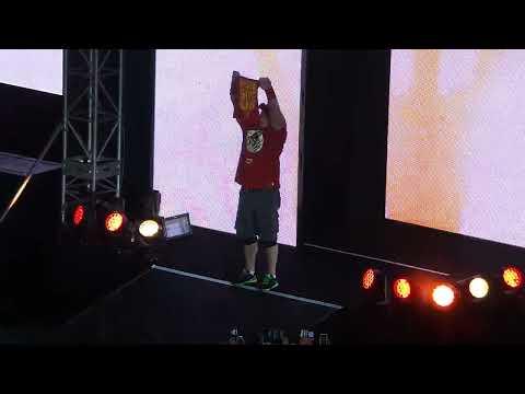 101014 John Cena Entrance WWE Kuala Lumpur Malaysia