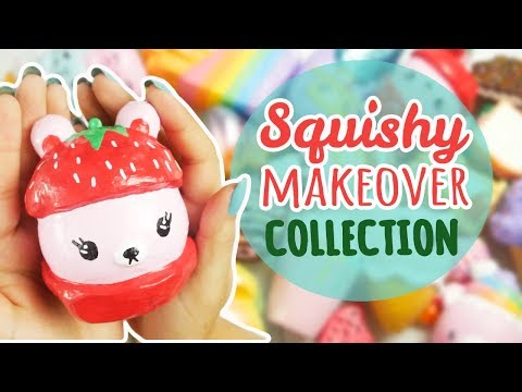 ENTIRE Squishy Makeover Collection (Squishy Update #13)