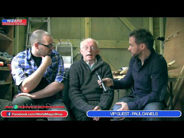 Wizard Product Review 21st May 2014 - VIP Guest - Paul Daniels