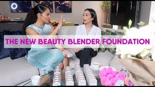 luxury staycation, how to pose & beauty blender