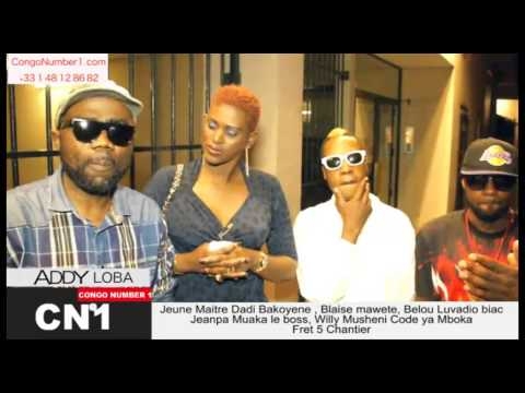 ADDY Loba Somono et Mbochi en studio (www.congonumber1.com)