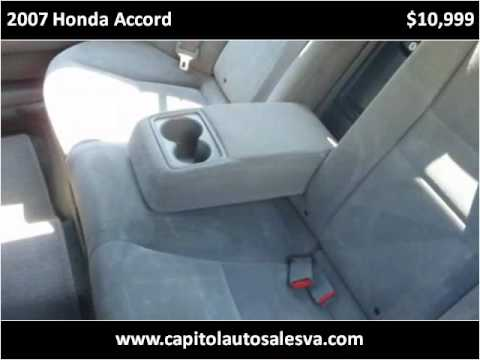2007 Honda Accord Used Cars Manassas VA