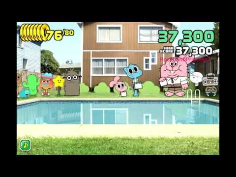 The Amazing World Of Gumball Online Games Splash Master