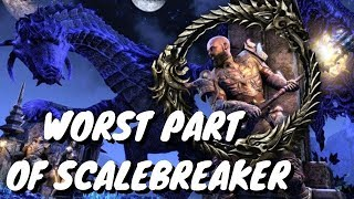 ESO - The WORST PART Of Scalebreaker...