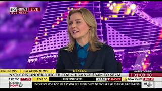 Nerida Cole on interest rates – guest host, Sky News Business