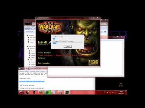 Como Baixar E Instalar Warcraft 3 + The Frozen Throne - Atualizado 20 12 12 video