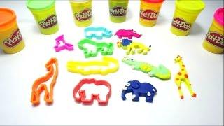 Creative Zoo Animal Molds - DIY Play-Doh Game for Kids