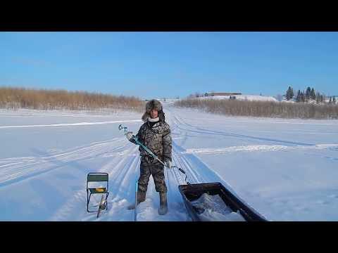 Рыбалка в -30 Налим и сорога 11.02.2018