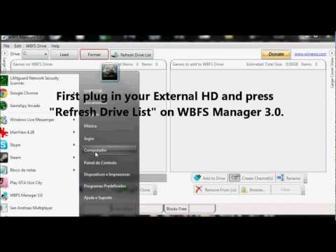 How to install and play cracked Wii ISO games (WBFS Manager 3.0)