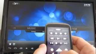 XBMC media center on the $74 MK802 Android 4.0 Mini PC
