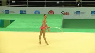 Rio de Janeiro - Test Event: Veronica Bertolini / Cerchio (All-around)