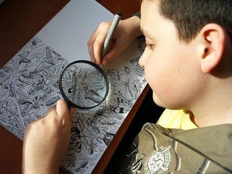 Este Chico Prodigio De 11 Años Crea Impresionantes Y Detallados Dibujos Llenos De Vida. ¡Wow!