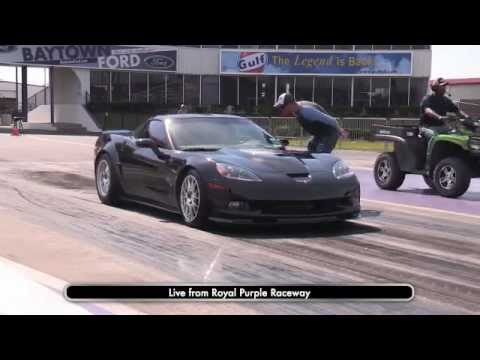 Live Drag Racing (2) - ZR1, CTS-V, Camaro, Corvette