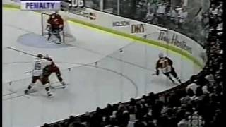 Fedorov Destroys Joe Sakic INCREDIBLE DEKE 1996 World Cup of Hockey