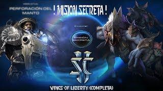 MISIÓN SECRETA StarCraft 2 wings of liberty COMPLETA con FINAL EPICO!! / YuTuV MD