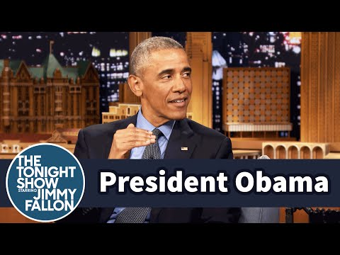 President Obama and Jimmy Had an Awkward First Meeting