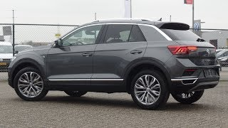 Volkswagen NEW T-Roc 2018 Sport Indium Grey Metallic 18 inch Montego Bay inside & walk around
