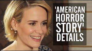 Sarah Paulson Teases 'American Horror Story: Hotel' Role, Plan to Become BFFs With Lady Gaga