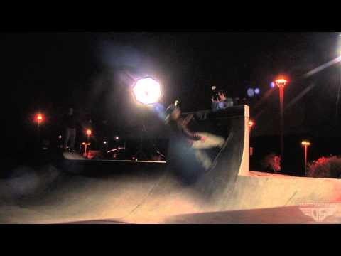 Gravity Skateboards - Night Session in Oceanside - Brad Edwards, Shane Hildalgo