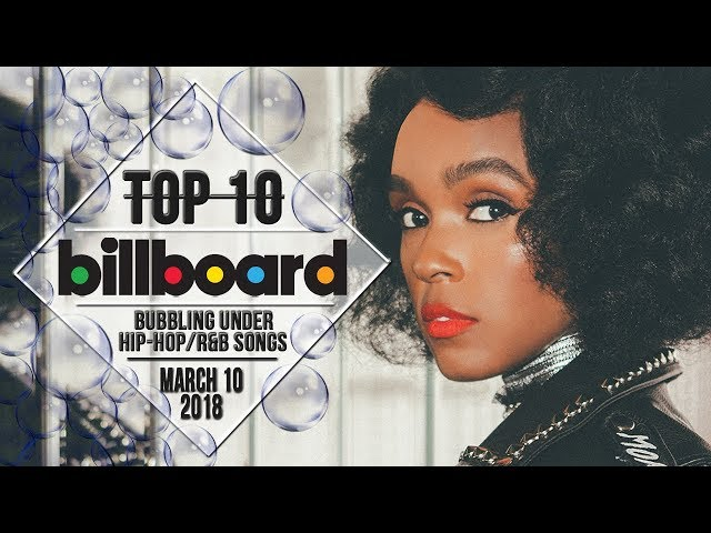 Top 10 • US Bubbling Under Hip-Hop/R&B Songs • March 10, 2018 | Billboard-Charts