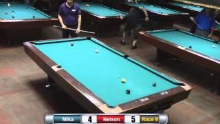 Mika Immonen vs Nelson Oliveira - Snookers Joss Northeast 9-Ball Tour