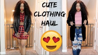 CUTE CLOTHING HAUL!!!!! ft Klaiyi Hair