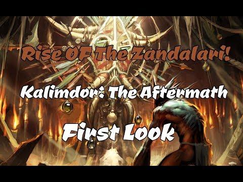 Kalimdor: The Aftermath - Zandalari (New Faction First Look 2/2)