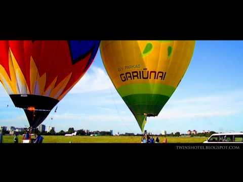 Полет воздушных шаров в Минске | Balloons' flight in Minsk
